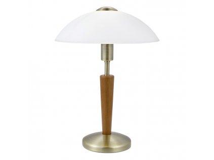 EGLO 87256 stolní lampa dotyková SOLO 1 E14-ILLU 1x60W