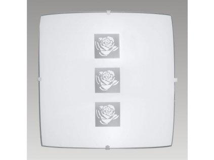 Prezent Stropní svítidlo DELTA 1xE27/60W,300x300,GLASS 45041 K