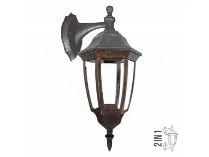 PREZENT 48300 NICOSIA venkovní nástěnné svítidlo