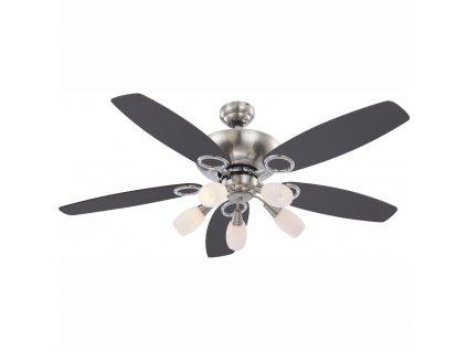 GLOBO 0337 stropní ventilátor se světlem JERRY