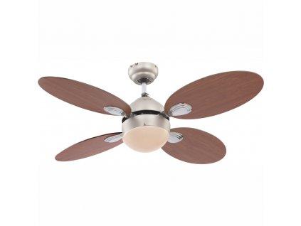 GLOBO 0318 stropní ventilátor se světlem WADE