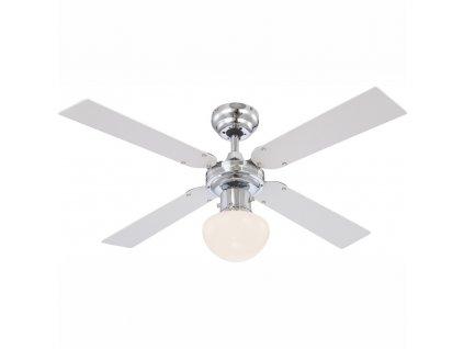 GLOBO 0330 stropní ventilátor se světlem CHAMPION