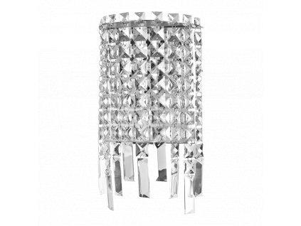 LUXERA 64340 PALASS nástěnné křišťálové svítidlo