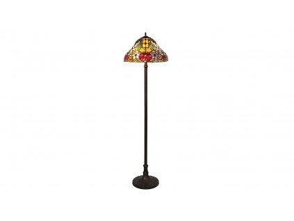 RABALUX 8088 MIRELLA stojací lampa Tiffany