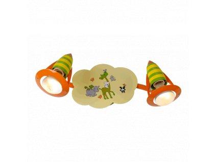 PREZENT 28013 SAFARI dětské nástěnné bodové svítidlo