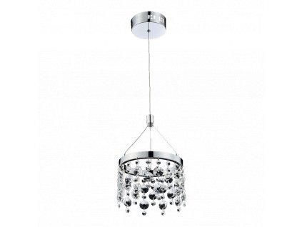 LUXERA 64393 ERATTO LED moderní závěsné křišťálové svítidlo
