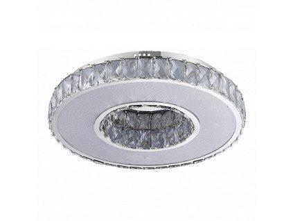 LUXERA 64398 ORAMA LED moderní stropní křišťálové svítidlo