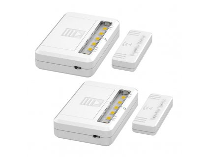 WL908 Solight LED světélka do skříní, komod a zásuvek, 40lm , 2x AAA, 2ks v balení
