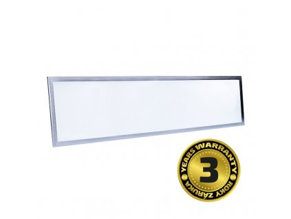 Solight LED světelný panel, 40W, 4000lm, 4100K, Lifud, 30x120cm, 3 roky záruka