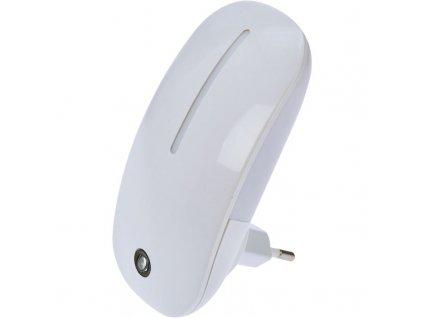 WL901 Solight noční LED světélko se světelným senzorem, 1W, 230V, bílé