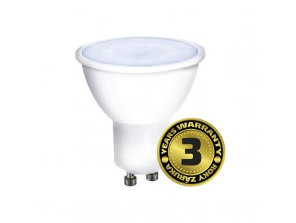 WZ325A Solight LED žárovka, bodová , 7W, GU10, 6000K, 500lm, bílá