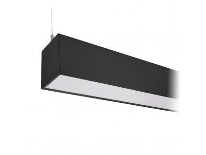 WPR-36W-002 Solight LED lineární závěsné osvětlení, 36W, 3060lm, 118cm, Lifud, 3 roky záruka, černá barva