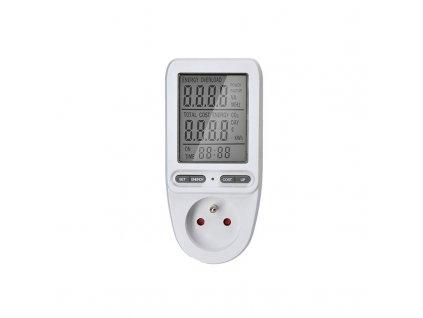 DT27 Solight digitální měřič spotřeby el. energie, velký displej