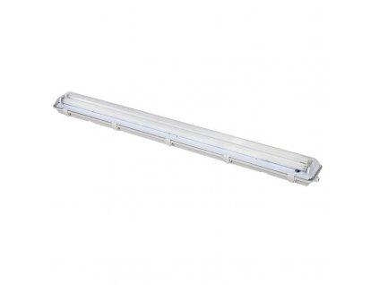 WO512 Solight stropní osvětlení prachotěsné, G13, pro 2x 120cm LED trubice, IP65, 127cm