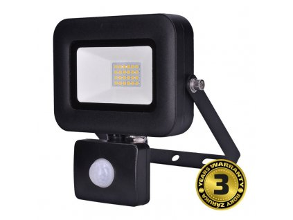 WM-20WS-L Solight LED reflektor PRO se senzorem, 20W, 1700lm, 5000K, IP44