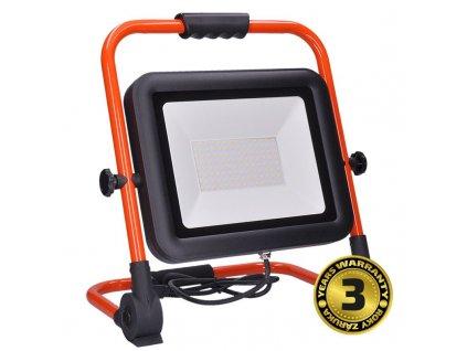 WM-100W-FEL Solight LED reflektor PRO se sklopný stojanem, 100W, 8500lm, 5000K, kabel se zástrčkou, IP65