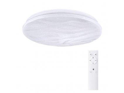WO736 Solight LED stropní světlo Wave, 30W, 2100lm, stmívatelné, změna chromatičnosti, dálkové ovládání