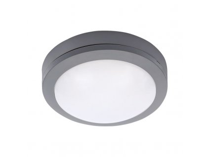 WO746 Solight LED venkovní osvětlení kulaté, šedé, 13W, 910lm, 4000K, IP54, 17cm