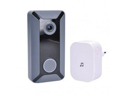 1L200 Solight Wi-Fi bezdrátový zvonek s kamerou