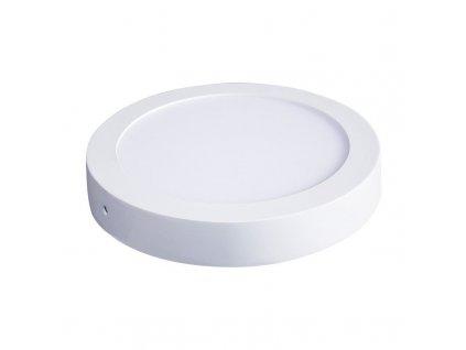 WD115 Solight LED panel přisazený, 12W, 900lm, 4000K, kulatý, bílý