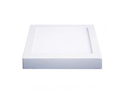 WD116 Solight LED panel přisazený, 12W, 900lm, 4000K, čtvercový, bílý