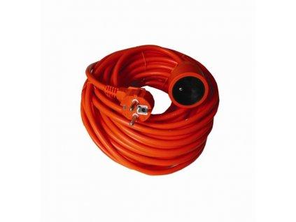 PS17 Solight prodlužovací kabel - spojka, 1 zásuvka, oranžová, 20m