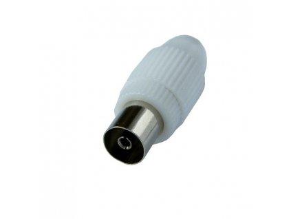 SSN5400E Solight anténní COAX zdířka přímá, 10ks, sáček