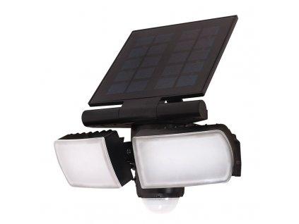 WO772 Solight LED solární osvětlení se senzorem, 8W, 600lm, Li-on, černá