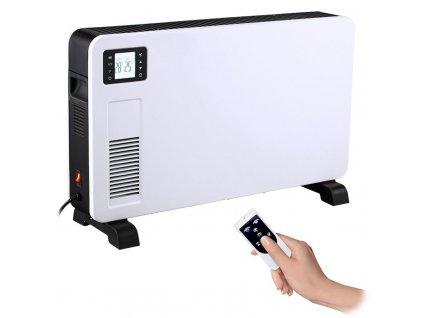 KP02 Solight horkovzdušný konvektor 2300W, LCD, ventilátor, časovač, nastavitelný termostat