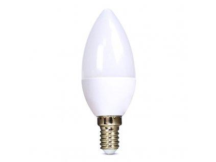 Solight LED žárovka, svíčka, 8W, E14, 4000K, 720lm