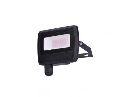 Solight LED reflektor Easy, 10W, 800lm, 4000K, IP65, černý