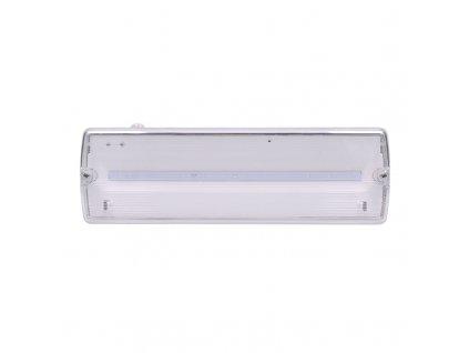 Solight LED nouzové osvětlení, 6W, 270lm, IP65, LiFePo4 1500mAh baterie, autotest