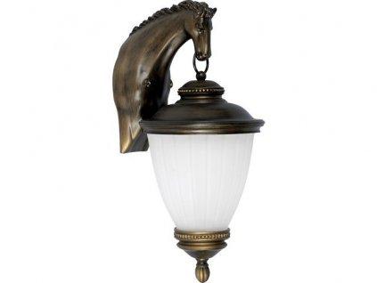 NOWODVORSKI 4900 venkovní nástěnné svítidlo HORSE