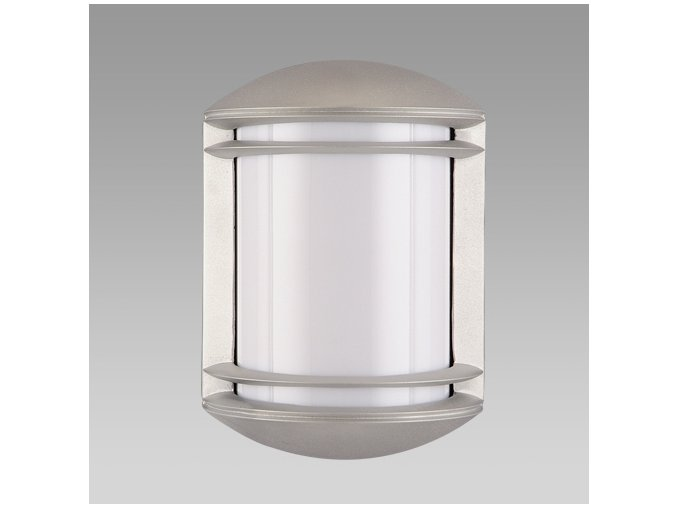 Prezent Venkovní svítidlo NEW YORK 1xE27/60W,IP54,WALL,SILVER/OPAL 3004