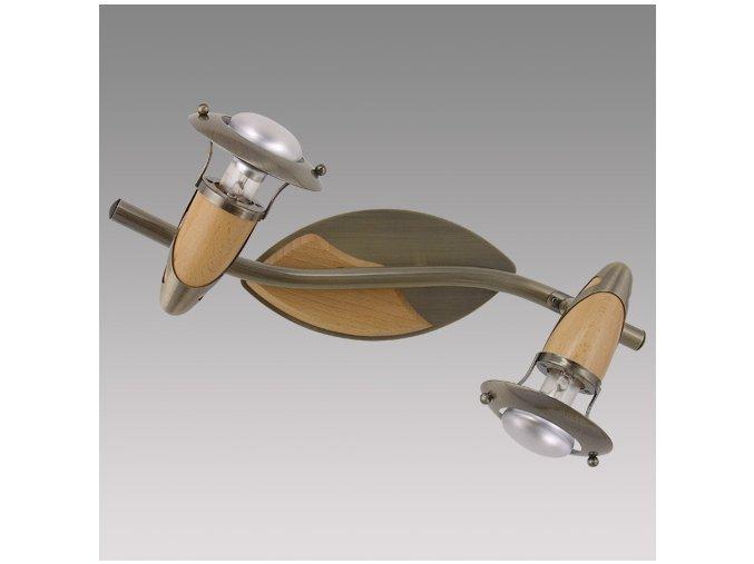 Prezent Stropní svítidlo ZEUS 2xE14/R50/40W, ABS. LW 323
