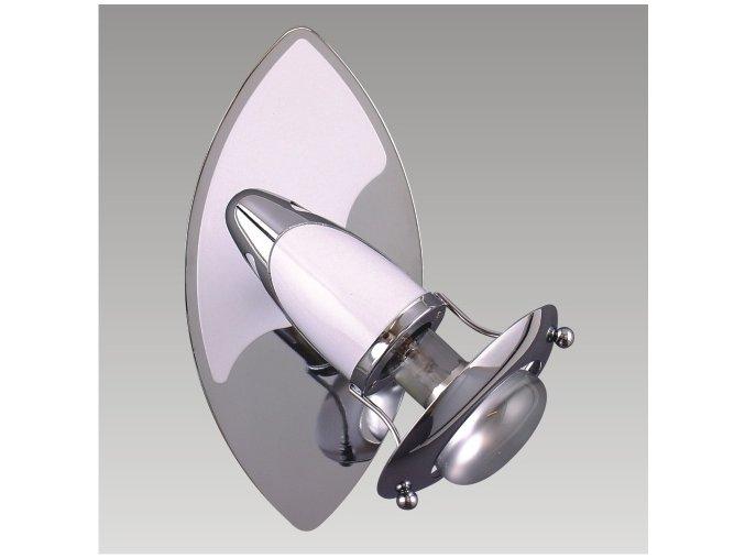 Prezent Nástěnné svítidlo ZEUS 1xE14/R50/40W, CHROME/WHITE 359