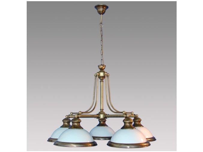 Prezent Závěsné svítidlo ORION 5xE27/60W, ABS/OPAL GLASS 30001