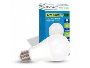 V-TAC LED žárovka E27 / 1800lm 17W bílá teplá