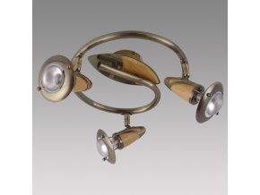 Prezent Stropní svítidlo ZEUS 3xE14/R50/40W, ABS 324