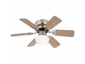 GLOBO 0307 stropní ventilátor se světlem UGO