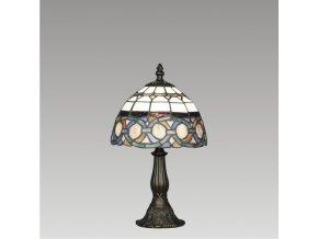 Prezent Lampa TIFFANY 1xE14/40W,TABLE SMALL 81