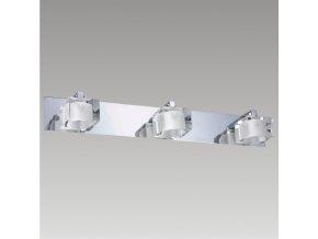 Prezent Nástěnné svítidlo MAGNUM 3xG9/33W, CHROME/CLEAR 25023