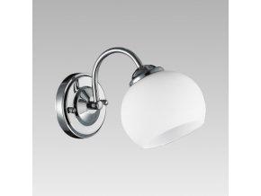 Prezent Nástěnné svítidlo SORANO 1xE27/60W, CHROME/OPAL 33312