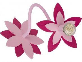 NOWODVORSKI 6893 dětské nástěnné svítidlo FLOWERS
