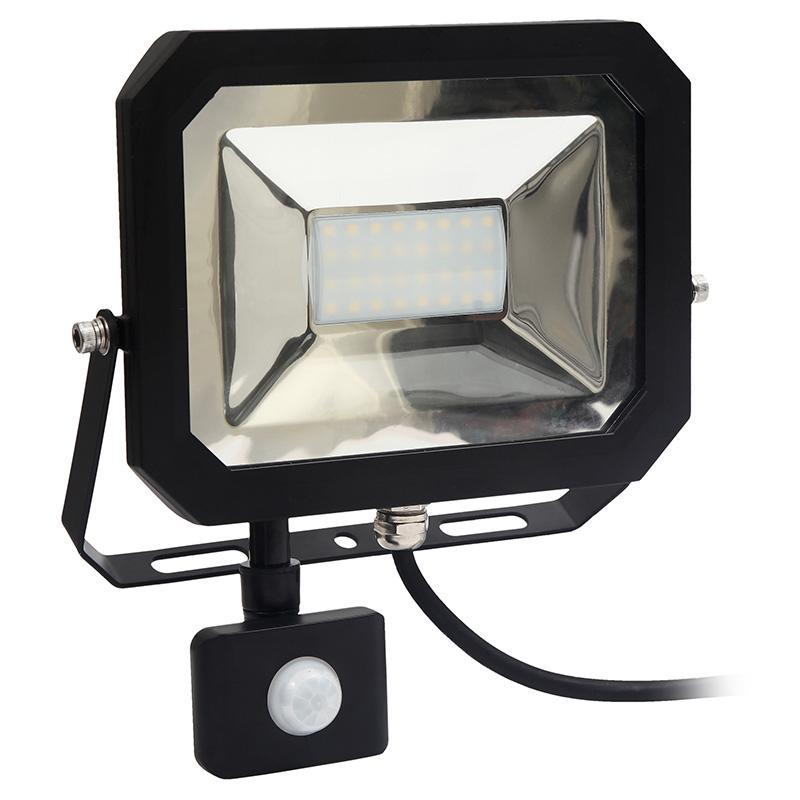 NEDES LED reflektor slim+senzor 20W/4000K - LF1022S