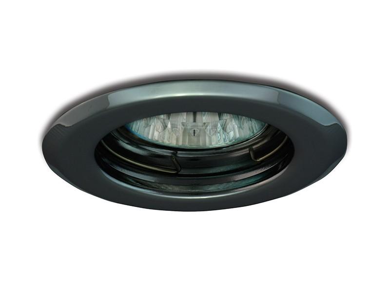 PANLUX PPD-R50/CHC vestavný podhled pevný chrom černý
