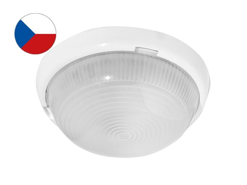 Fotografie PANLUX LADY SNL-M-100 přisazené stropní a nástěnné svítidlo E27 100W bílá mat Panlux