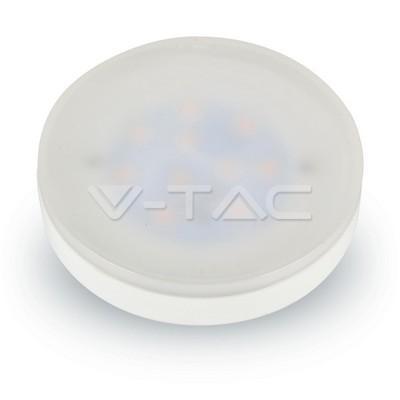 V-TAC LED žárovka 7W 550lm Gx53 VT-1969 – teplá bílá 3000K