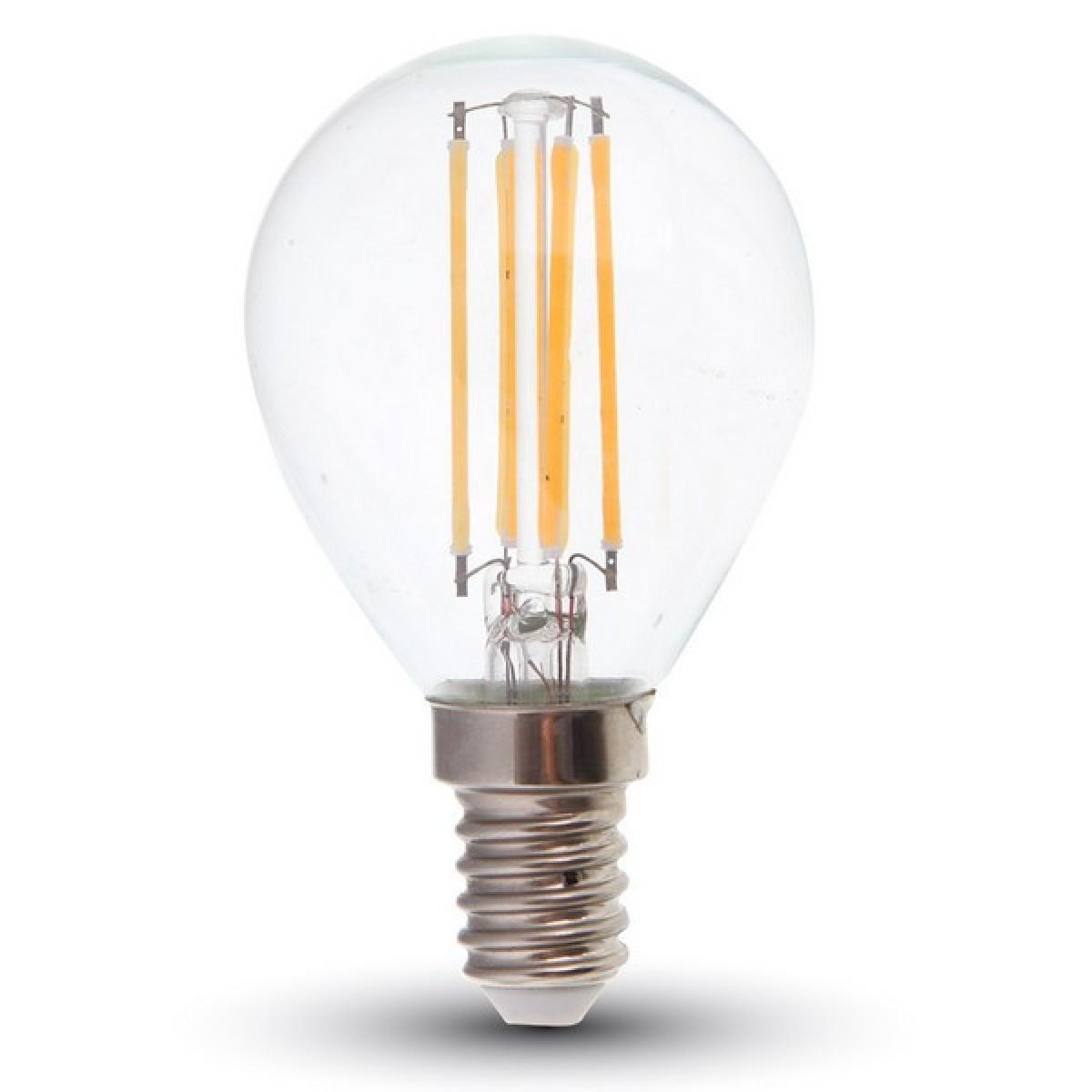 V-TAC LED žárovka VT-1996 4W E14 - 4000K čiré sklo