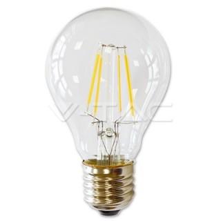 V-TAC LED žárovka VT-1885 4W E27 - 2700K čiré sklo